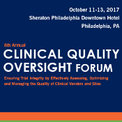 8th Clinical Quality Oversight Forum: Philadelphia, Pennsylvania, USA, 11-13 October 2017