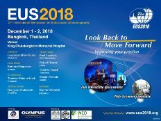 The 21st International Symposium on Endoscopic Ultrasonography (EUS 2018): King Chulalongkorn Memorial Hospital, 1873 Rama IV Road, Pathum Wan, Bangkok, 10330, Thailand, 1-2 December 2018