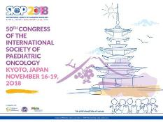 50th Annual Congress of the International Society of Paediatric Oncology: Kyoto, Japan, 16-19 November 2018
