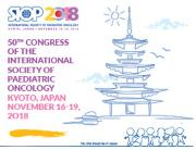 50th Congress of the International Society of Paediatric Oncology